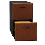 BBF Bush Series A 2-Drawer Mobile File Cabinet in Hansen Cherry Assembled - WC94452PSU