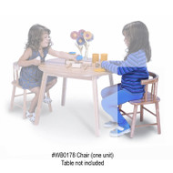 Whitney Brothers Bentwood Back Maple Chair - WB0178