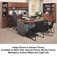 BBF Bush Series C Package Executive U-Shaped Bowfront Desk - SC14