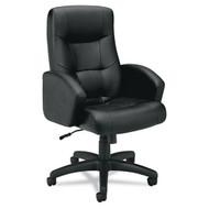 Basyx Black Vinyl Executive High-Back Chair - VL121EN11