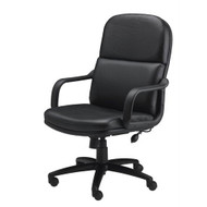 Mayline Comfort Series Big and Tall Loop Arm Chair - 1801AGL