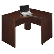Bush Quantum Series Harvest Cherry Corner Desk Shell Left - QT0455ACS
