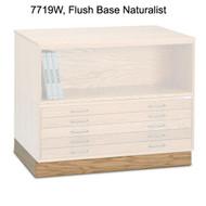 Mayline Wood Flush Base for 7719C Wood Plan File - 7719W