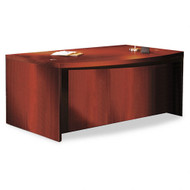 "* MONTHLY SPECIAL! Mayline Aberdeen Executive Desk Bowfront 72"" Cherry Finish - ABD7242-LCR"