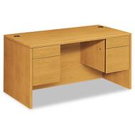 """HON 10500 Series Double 3/4 Pedestal Desk 60"""", Assembled - 10573CC"""