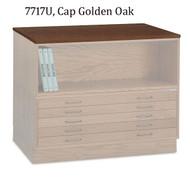 Mayline Wood Cap for 7717C Wood Plan File - 7717U