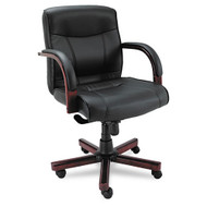 Alera Madaris Series Mid Back Swivel / Tilt Chair - MA42LS10M