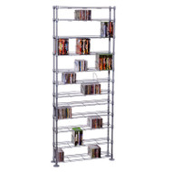 Atlantic Max Steel 864 12 Tier Media Rack - 63135237