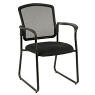Eurotech by Raynor Dakota Mesh Sled Base Guest Chair - 7055SB