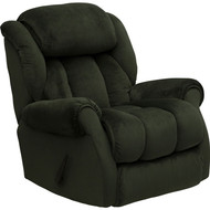Flash Furniture Contemporary Champion Sage Microfiber Chaise Recliner - AM-9650-2052-GG