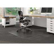 "Deflect-o Duramat Low Pile Carpet Chairmat Rectangle 46"" x 60"" - CM13441F"