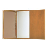 Mayline Presentation Board Golden Cherry ASSEMBLED - CTMB-GCH