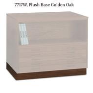 Mayline Wood Flush Base for 7717C Wood Plan File - 7717W