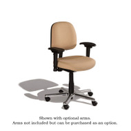 Cramer Fusion Desk-Height Medium Back Chair 4-way Fabric - FSMD4
