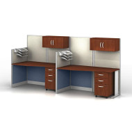 Bush Office-in-an-Hour Desk Straight Workstation 2-units - OIAH005HC