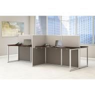 "BBF Bush Easy Office Straight Desk 60"" 4-Person - EOD660MR-03K"