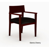 Mayline Mercado Wood Guest or Reception Chair (pack of 2 chairs) - VSC11A