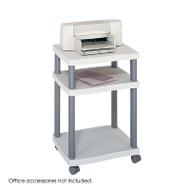 Safco Wave Desk Side Printer Stand - 1860GR