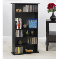 Atlantic Black Multimedia Cabinet - 37935726