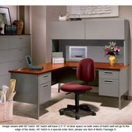 HON Metro Classic Series L Shaped Desk Package - METROPackageA