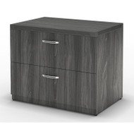 """* MONTHLY SPECIAL! Mayline Aberdeen Lateral File Cabinet 36"""" Free Standing Gray Steel - AFLF36-LGS"""