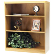 * MONTHLY SPECIAL! Mayline Aberdeen Bookcase 3-Shelf Maple - AB3S36-LMA
