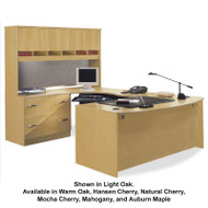 BBF Bush Series C Package Executive U-Shaped Bowfront Desk - SC10A