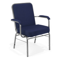 OFM Big and Tall Arm Stacking Chair 500 lbs. Capacity (2 pack) - 300-XL-2PK