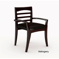 Mayline Mercado Wood Guest or Reception Chair (pack of 2 chairs) - VSC10A