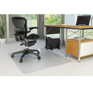 "Deflect-o Duramat Hard Floor Non-Studded Chairmat Rectangle 46"" x 60"" - CM2E440F"
