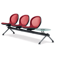 OFM NET Series Beam Seating 3 Seats and 1 Table - NB-4G