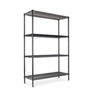 Alera Commercial Steel Wire Shelving Unit 72H x 18D x 48W - SW50-4818
