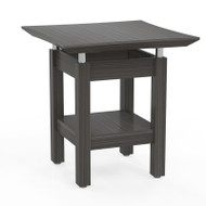 Mayline Sterling Series End Table, Textured Driftwood - STET-TDW