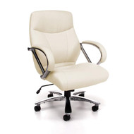 OFM Avenger Series Big & Tall Executive Mid-Back Chair - 811-LX-CR