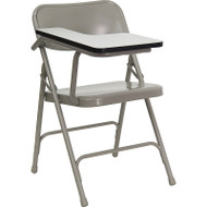 Flash Furniture Premium Steel Folding Chair with Right Tablet - HF-309AST-RT-GG