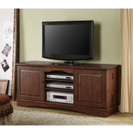 Walker Edison Jamestown Wood TV Console 60 Brown Finish - WQ60C73TB