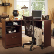 Bush Cabot Collection Corner Desk Harvest Cherry - WC31415-03