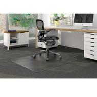 "Deflect-o Duramat Low Pile Carpet Chairmat Lipped 45"" x 53"" - CM13231"