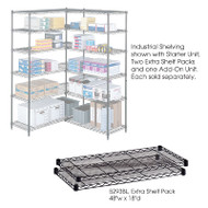 "Safco Extra Shelves Shelving Units 48""W x 18""D (2-pack) - 5293"