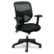 Basyx by HON Black Mesh High-Back Chair - VL531MM10