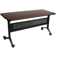 "Mayline Flip-N-Go Rectangular Laminate Table 18"" x 60"" - LF1860"