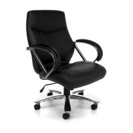 OFM Avenger Series Big & Tall Executive Mid-Back Chair - 811-LX