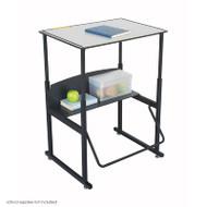 Safco Alphabetter Box Desk - 1203GR