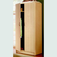 Nexera 2 Door Wardrobe Storage Cabinet Natural Maple Finish - 564