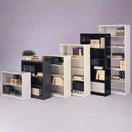 HON Brigade Metal Bookcase 6-Shelves - S82AB