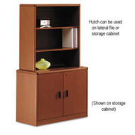 HON 10700 Series Locking 2-Drawer Lateral File with Hutch - 10762 107292