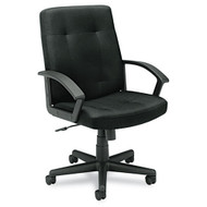 Basyx Fabric Managerial Mid-Back Chair - VL602VA