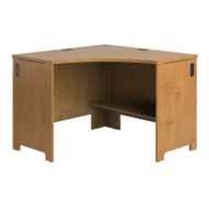 Bush Envoy Series Corner Desk Natural Cherry - PR76320
