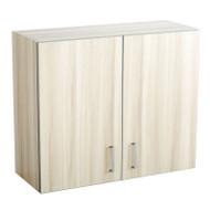 Safco Hospitality Base 2-Door Wall Cabinet, Vanilla Stix - 1700VS