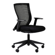 Eurotech by Raynor Curv Mesh Back Chair - CURV-BLKFF